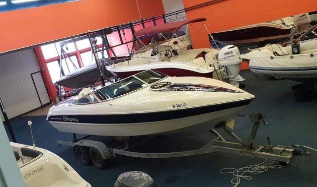 f035e23a3f Stingray 230 sx kabinos sporthajó eladó ( Érvényes Balatoni használati  engedélyekkel ) 6990000